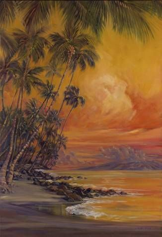 """""""Ho'apili Trail"""" by Janet Spreiter at Maui Hands"""