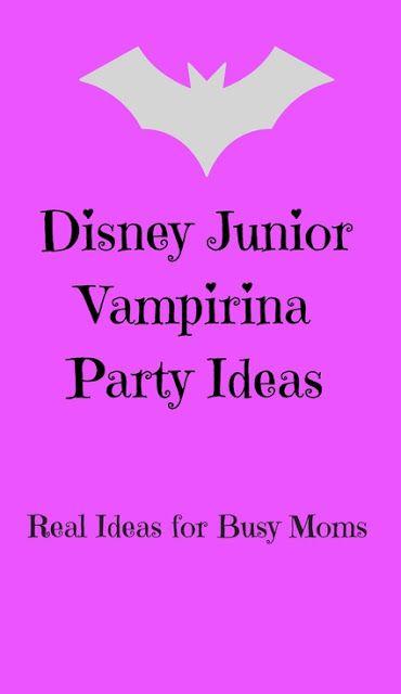 Disney Junior Vampirina Party Ideas-from invitations to party favors
