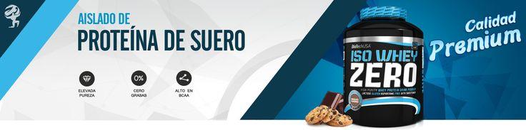 Iso Whey ZERO está compuesto por el más puro suero de leche, micro filtrado por flujo cruzado,mientras realmente contiene CERO lactosa, CERO grasas trans y CERO azúcar adicional. Iso Whey ZERO, como todos los productos BioTechUSA, está compuesto por ingredientes 100% seguros y cuidadosamente seleccionados. MundoNutrición.es
