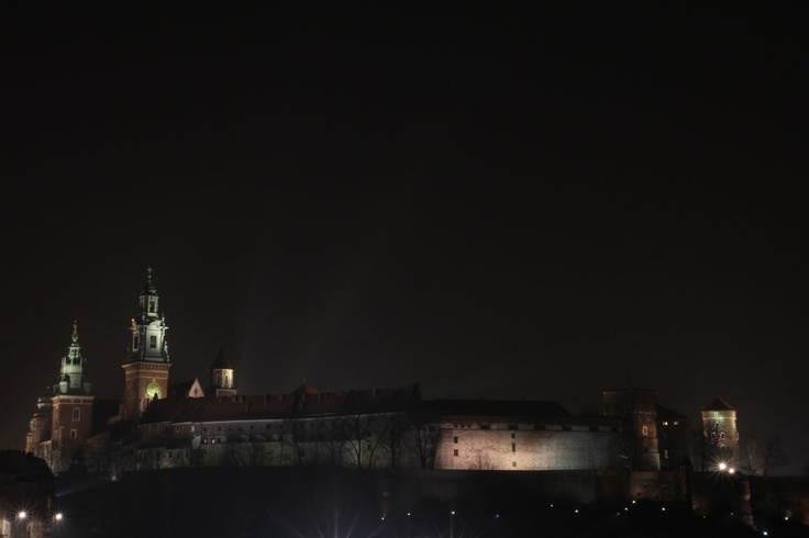 Wawel by night 28.02.2013 Zygmynt Bell ringed