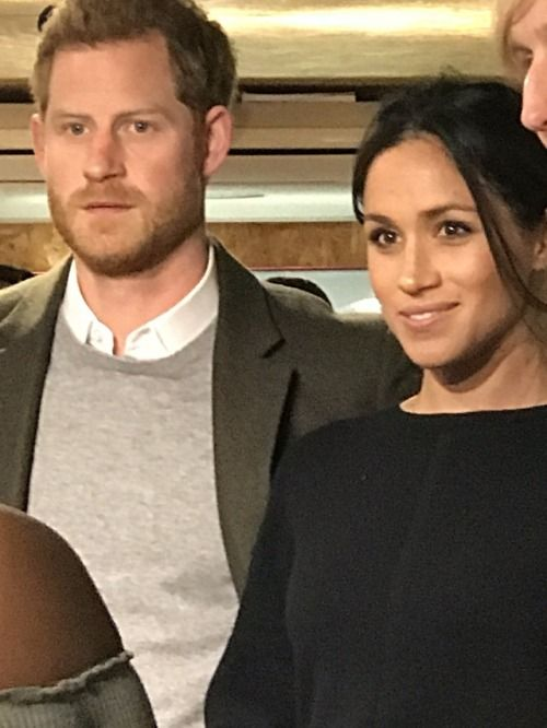 Meghan Markle and fiancée Prince Harry.