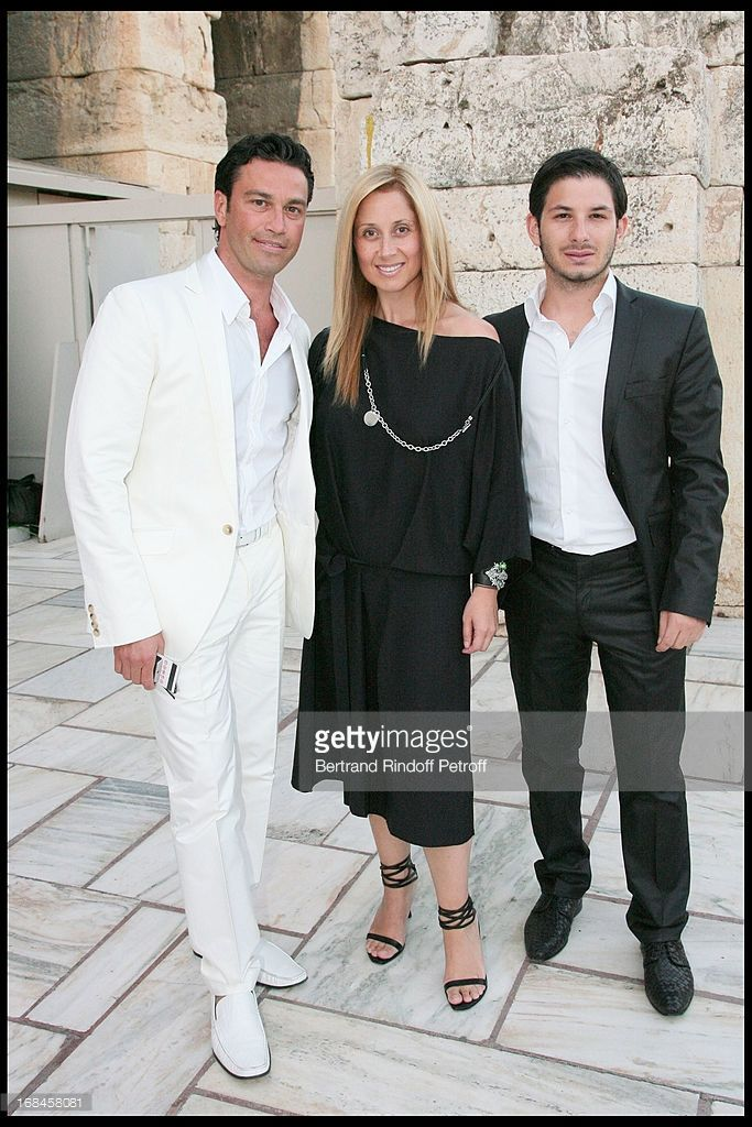Photo d'actualité : Mario Frangoulis, Lara Fabian, Georges Perri at...
