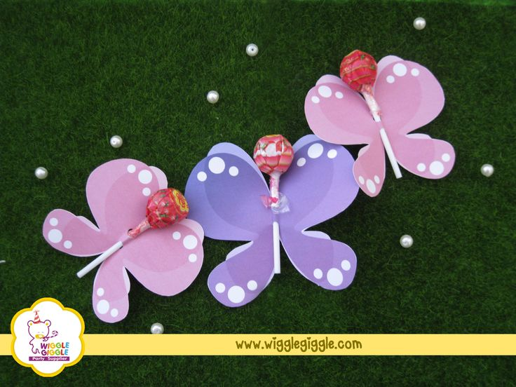 These cute butterflies can be the party souvenirs or also can serve as the desserts.. Visit us at www.wigglegiggle.com