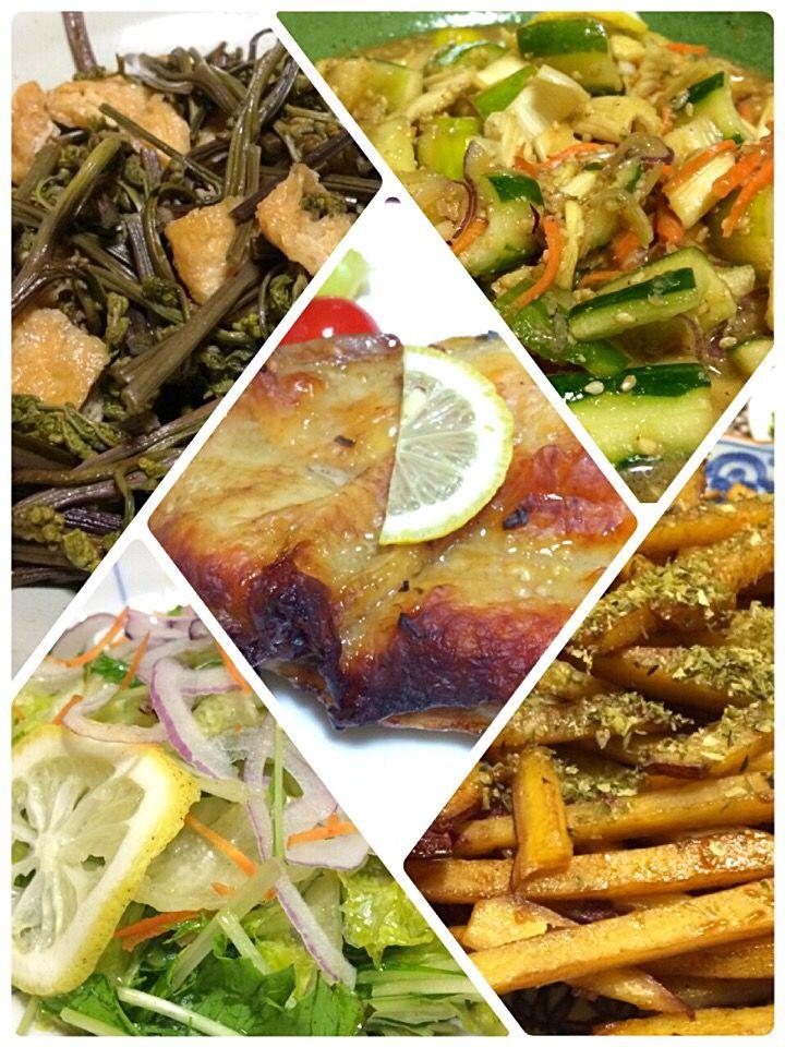 Miki Sanoさんの料理 簡単!レタス1個まん丸美味しく食べちゃえます絞りレタスの和風サラダもみ海苔が合う!野菜室の残念なレタスを見ないレシピつき!(写真左下)