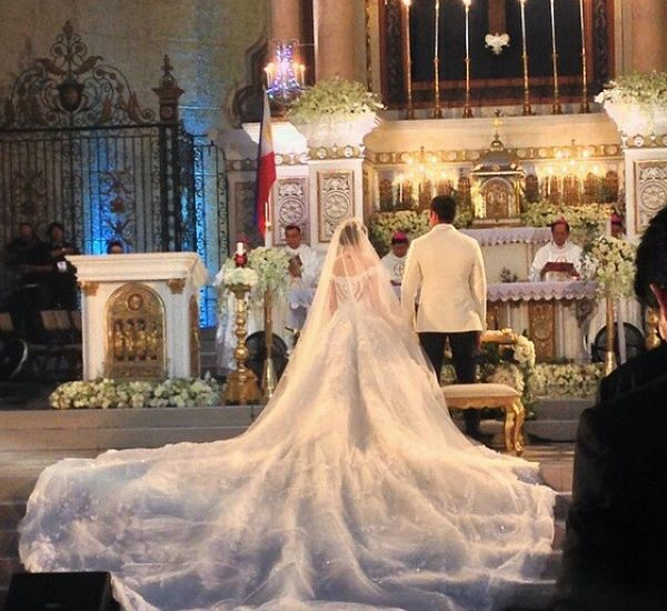 Marian Rivera wedding gown Michael Cinco 8