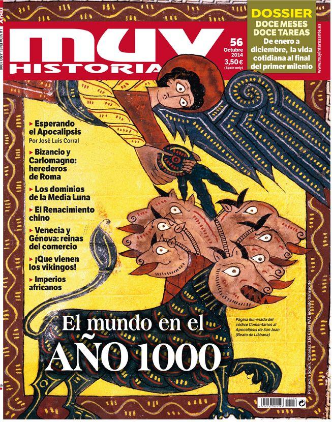¿Cómo era el mundo en el año 1000? No te pierdas el nuevo número de Muy Historia que ya puedes encontrar en tu kiosco habitual o a través de Zinio o Kiosco y Más: http://es.zinio.com/magazine/MUY%20Historia/pr-128783468/cat-1187 http://www.kioskoymas.com/