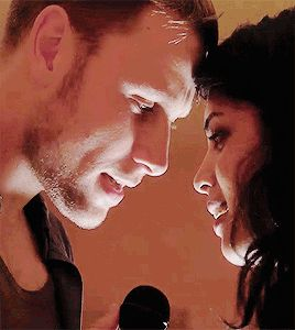 Max Riemelt Sense8 - Wolfgang I love the way he looks at her lips every time they're close.