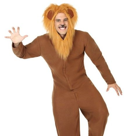 Vestito da ballo uomo leone