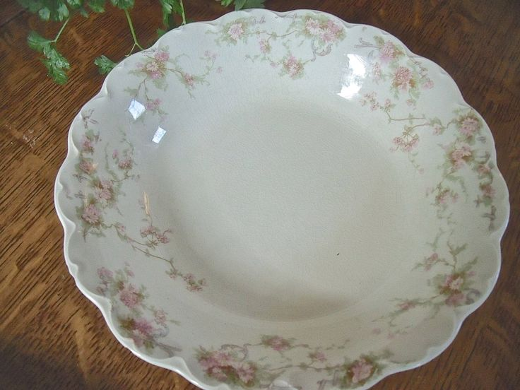"""VinTage """"JOHNSON BROS. ENGLAND"""" China Bowl--pink floral pattern-loveLy by anTiQues2uniQues on Etsy https://www.etsy.com/listing/181645348/vintage-johnson-bros-england-china-bowl"""