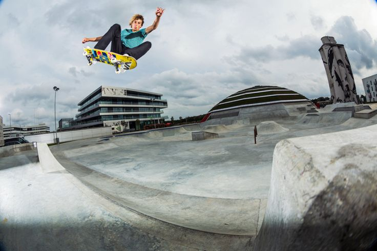 Oakley Presents Street Dome Skatepark by Rune Glifberg