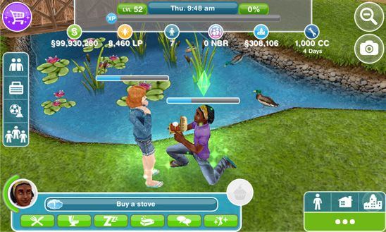 The Sims FreePlay - http://mobilephoneadvise.com/the-sims-freeplay