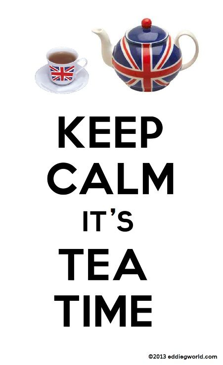 Oh, is it tea time already? Hahaha oh Ryan I know how you love these ;)