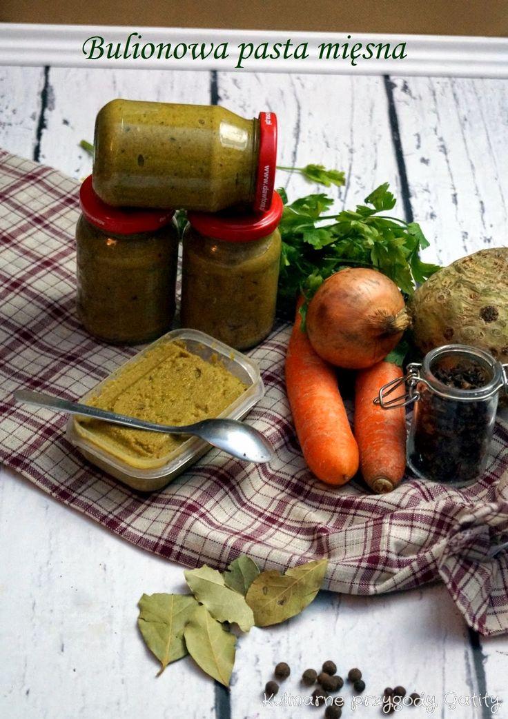 Kulinarne przygody Gatity: Bulionowa pasta mięsna, czyli domowa kostka rosołowa.