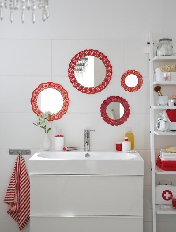 DIY Mirror Bathroom Decor On A Budget Cute Wall Mirrors Idea