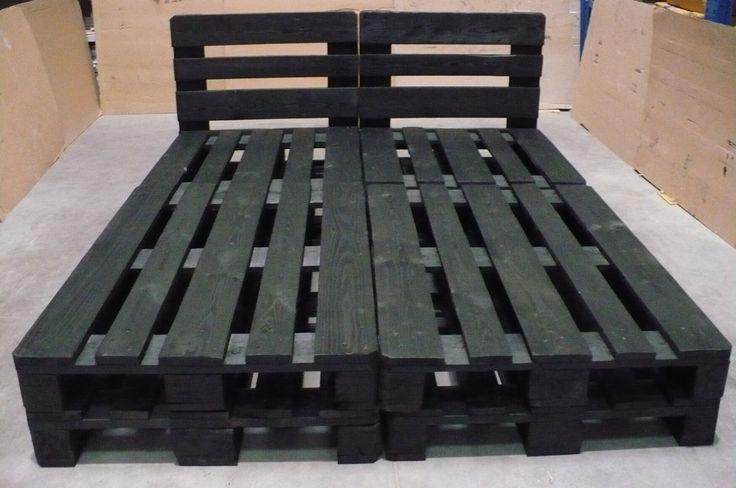 Łóżko z palet ,meble z palet, www.paletawdomu.pl (5079839266) - Allegro.pl - Więcej niż aukcje.