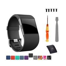 Fitbit Surge Replacement Band Strap Wristband Large For Watch Activity Tracker