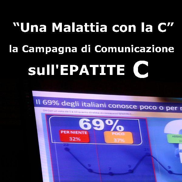 Ben 2 italiani su 3 ammettono una scarsa e inadeguata conoscenza dell'epatite C, un'infezione di cui non percepiscono la diffusione (solo il 26% pensa che le persone affette siano circa 1 milione1) e rispetto alla quale il 91% non sa che si manifesta senza sintomi evidenti.