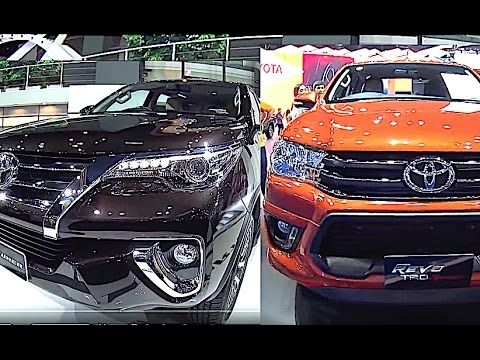 All new Toyota SUVs,  Toyota Fortuner, Toyota Hilux Revo TRD, 2016, 2017 model