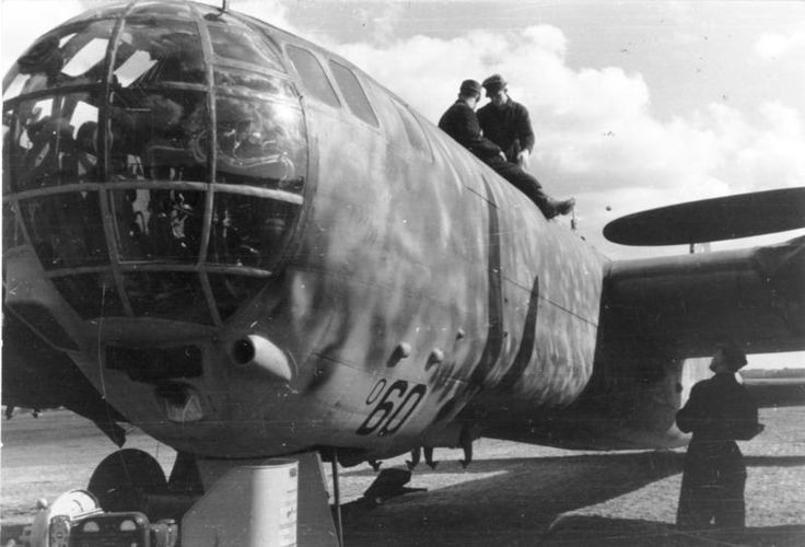"""The Heinkel He 177 Greif became known as the """"Flaming Coffin"""" due to the serious engine problems on initial versions of the aircraft, many of these because of  the engines' installation in their wing nacelles. A long-range bomber, the He177 was wrongly designated a dive bomber to perform a milder version of the Stuka dive bombing.In common with most German bombers, the He 177 was grounded from the summer of 1944 on as Allied bombing crippled German fuel production."""