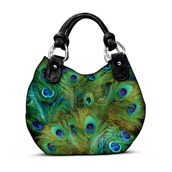 Sew: Pretty As A Peacock Handbag - Pic only