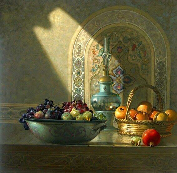 """Hocine Ziani, Algerian painter, was born in Algeria, lives and works in France. He is an autodidactartist. Professional painter since 1978-1993 in Algeria, 1994-2009 in France. Founding member of the Central Army Museum, Algiers. Affiliated to the """"Maison des Artistes"""", Paris. Member of the ADAGP, Paris. Member of the International Fine arts Academy, Quebec"""