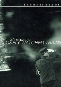 Closely Watched Trains (Czech: Ostře sledované vlaky) is a 1966 Czechoslovak film directed by Jiří Menzel, and one of the best-known products of the Czechoslovak New Wave. It was released in the United Kingdom as Closely Observed Trains. It is a coming-of-age story about a young man working at a train station in German-occupied Czechoslovakia during World War II. The film is based on a 1965 novel by Bohumil Hrabal.