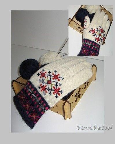 Gloves, Estonian pattern Mimmi käsitööd