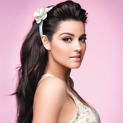 Maite Perroni... I wish I had her long hair!!