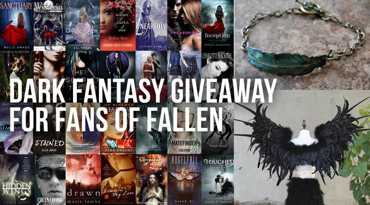 28 amazing dark fantasy and supernatural thriller books for Fallen fans! #Fallenmovie #giveaway