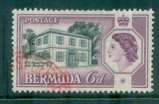 Bermuda 1959 Post Office Restoration FU lot79211