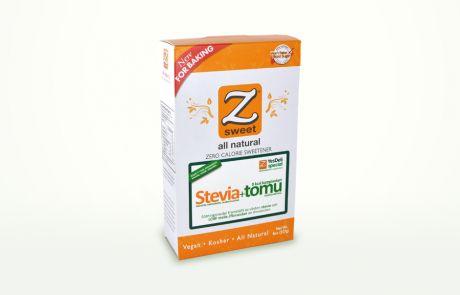 Stevia+tomu Karppitomusokeri 0 kcal ja GI 0 . Makeus 1:1 sokerin kanssa. Ei sisällä yhtään imeytyvää hiilaria. Ei nosta verensokeria. Soveltuu karppaajalle, diabeetikolle ja laihduttajalle. Sallittu Atkins 1-4 vaiheissa.