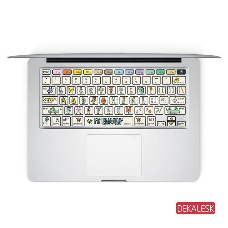 Friend ship macbook keyboard stickers