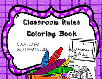 Classroom Rules Coloring Book FLASH FREEBIE