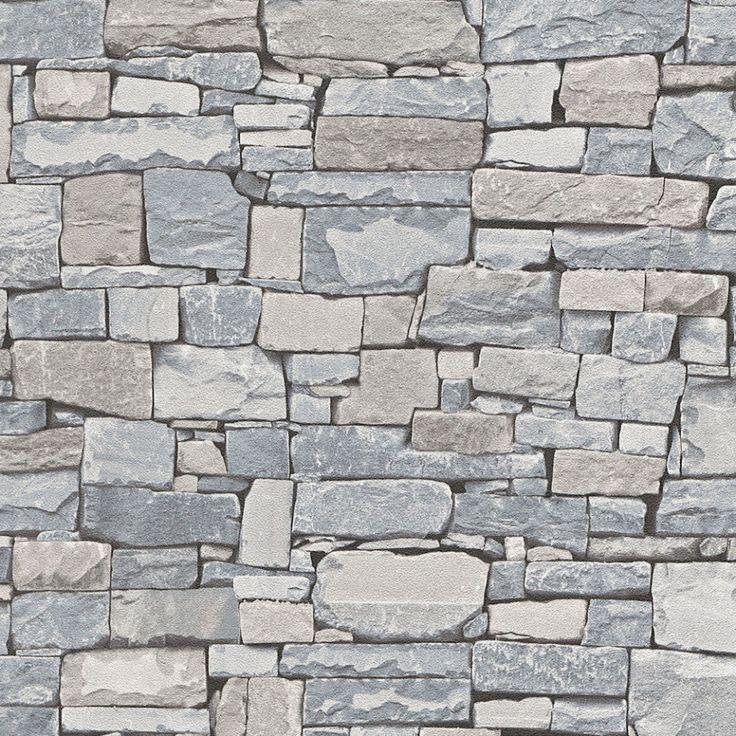 88 mejores im genes sobre papel pintado ladrillo y piedra for Papel piedra pared