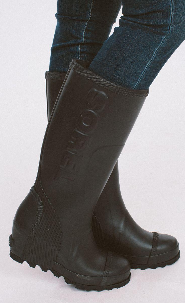 Sorel Joan Rain Wedge Boot from Cheeky Peach Boutique