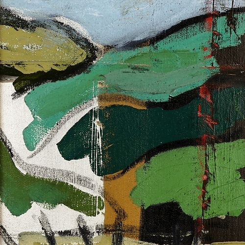 Landscape oil painting 15-097