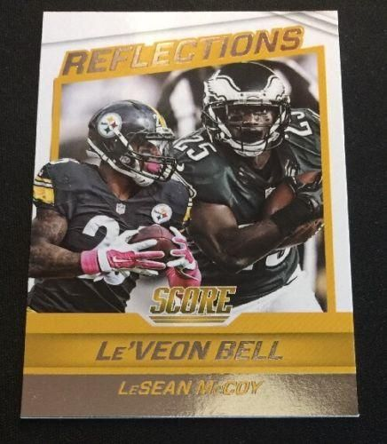 2016 Score Reflections Football #7 Le'Veon Bell/LeSean McCoy