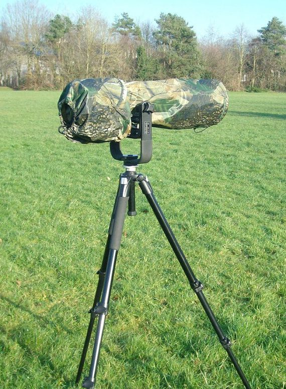 Waterproof Canon 600 mm F4  Camera and Lens Rain by GrazinasDesign
