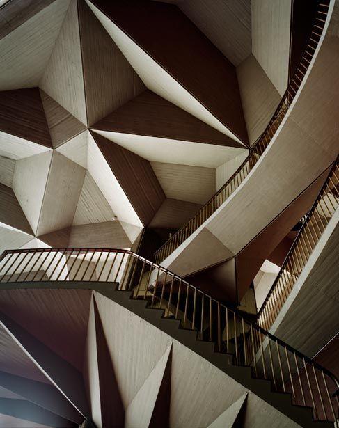 Cubist origami / Turin's Teatro Regio, Italy, architect Carlo Mollino