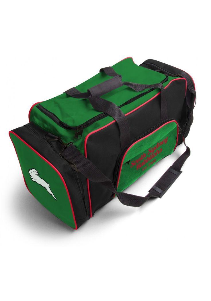 South Sydney Rabbitohs NRL Team Logo Two Tone Sports Training Bag
