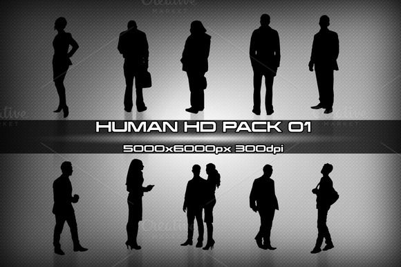 People HD pack 01 by stallfish's art store on @creativemarket