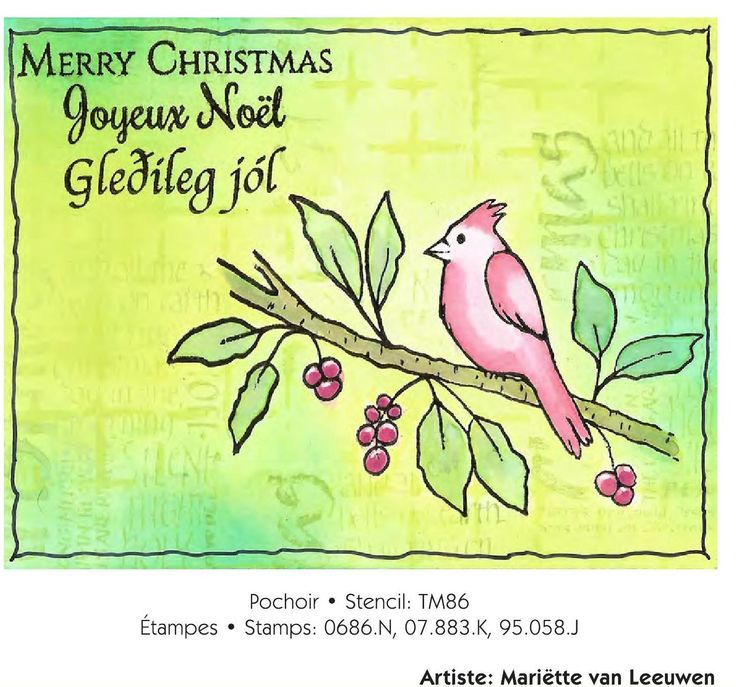 Inspiration Cartes de Noël • Christmas Cards Inspiration crwated by Mariëtte Stampingmariette.blogspot.nl: