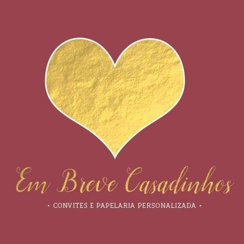 Novo logo com muito amor❤️@LojaEmBreveCasadinhos | #papelariadecasamento #convite #casamento #noiva #gold #marsala #boanoite