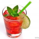 Erdbeer Caipirinha alkoholfrei
