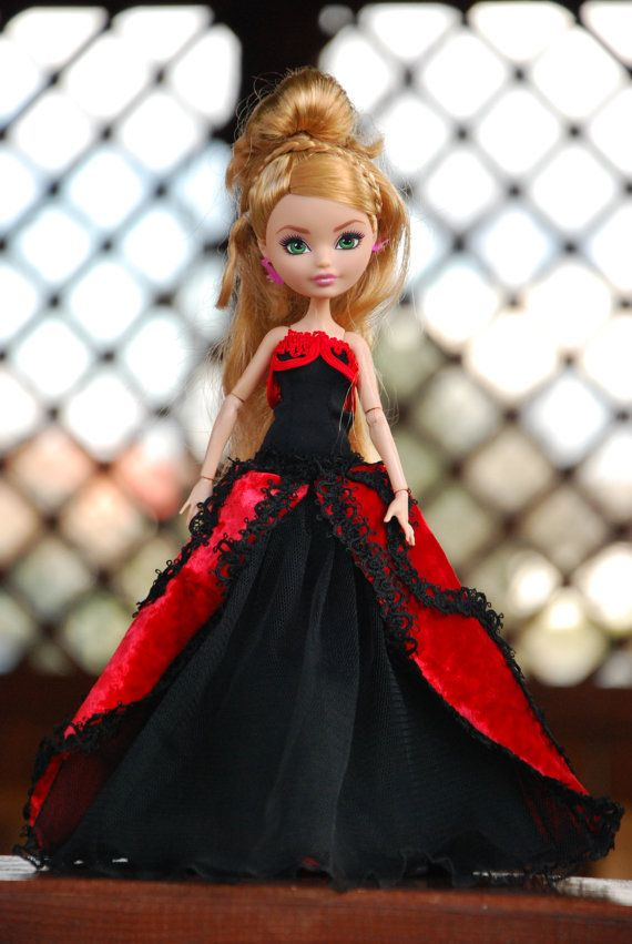 Monster High and Ever After High handmade ball gowns by LucieVran