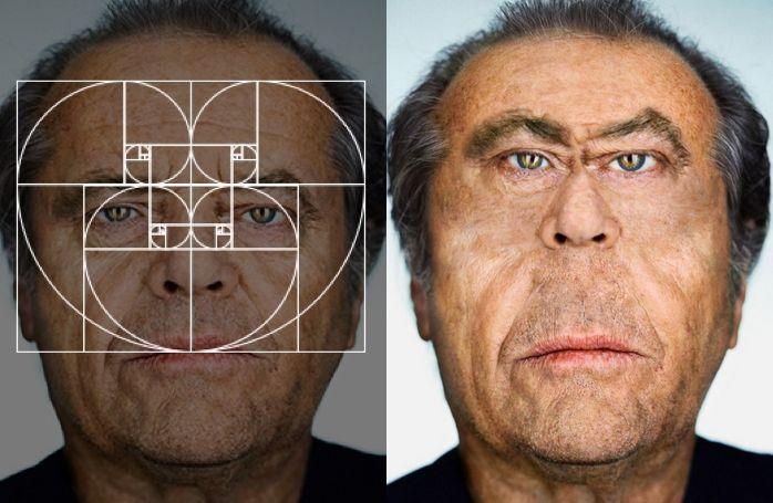 "Fibonacci Sequence Makes ""Perfect"" Celebrity Portraits | The Creators Project"