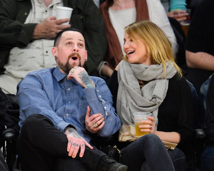 Benji Madden & Cameron Diaz - The Cutest Celebrity Couple PDA Moments  - ELLE.com