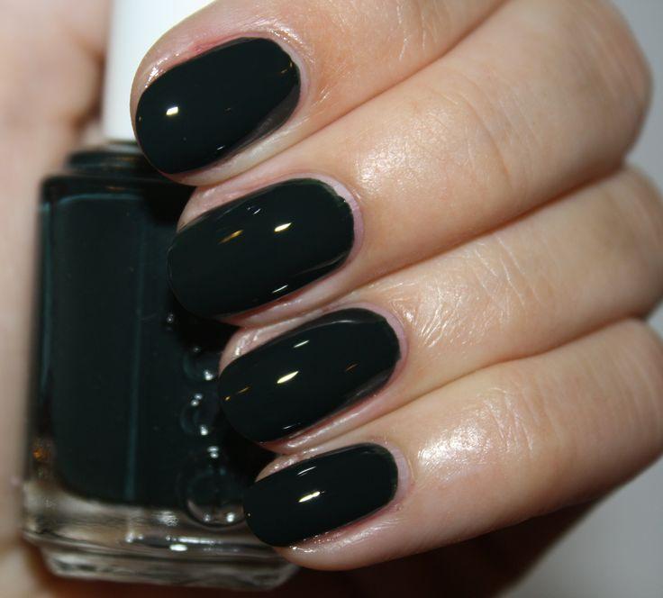 Best 25+ Dark Green Nails Ideas On Pinterest