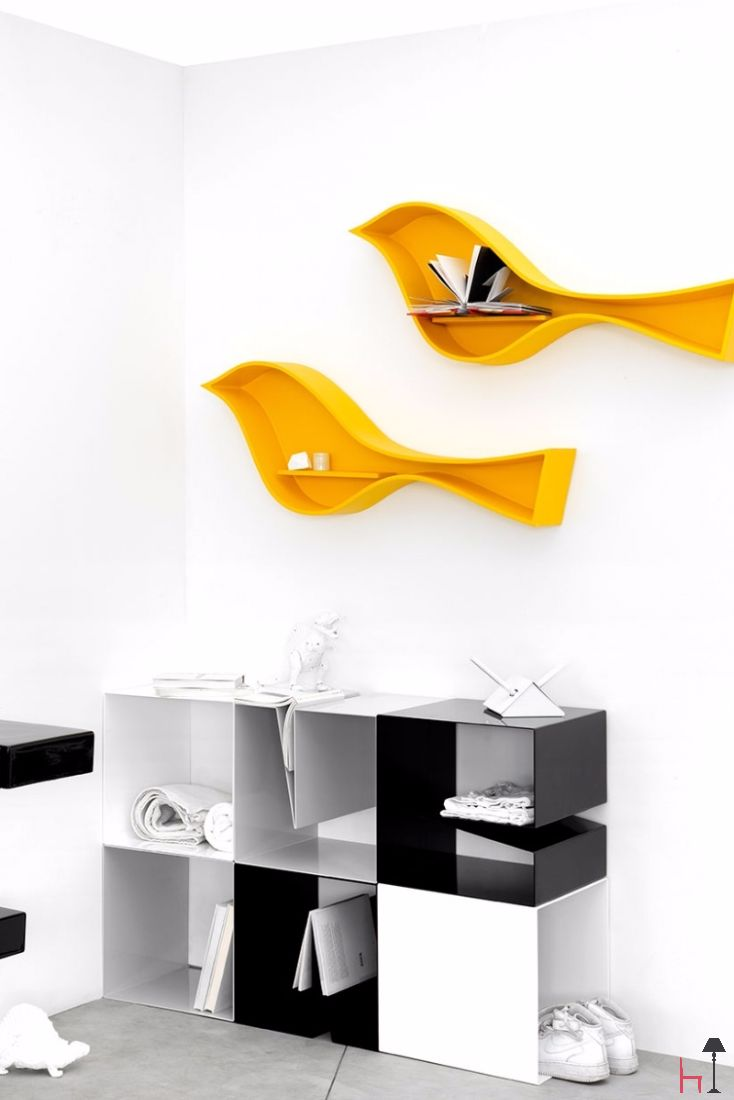 Modular storage furniture systems - Modular System Composed Of Two Units Which Can Be Used Independently Or Grouped Together To