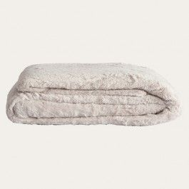 The ultimate in luxurious comfort, our superior-quality Cosi Throw is as indulgent as it is beautiful. With a sumptuously plush feel, it is so wonderfully cosy to snuggle up in. Choose between three gorgeous colours - ivory, blush and grey.